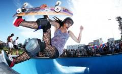 スケートボード オリンピック追加種目に